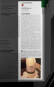 Esordiamo sul Golosario con una bellissima recensione di Paolo Massobrio in persona, che ha scoperto i nostri prodotti grazie ad un nostro cliente d'eccezione: la storica Gastronomia Baudracco di Torino